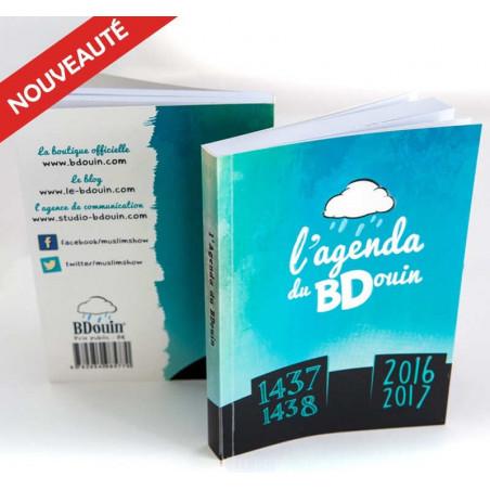 Agenda BDouin 2016-2017 / 1437-1438 Bleu