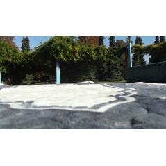 Tapis de Prière épais sur support antidérapant - COULEUR GRIS
