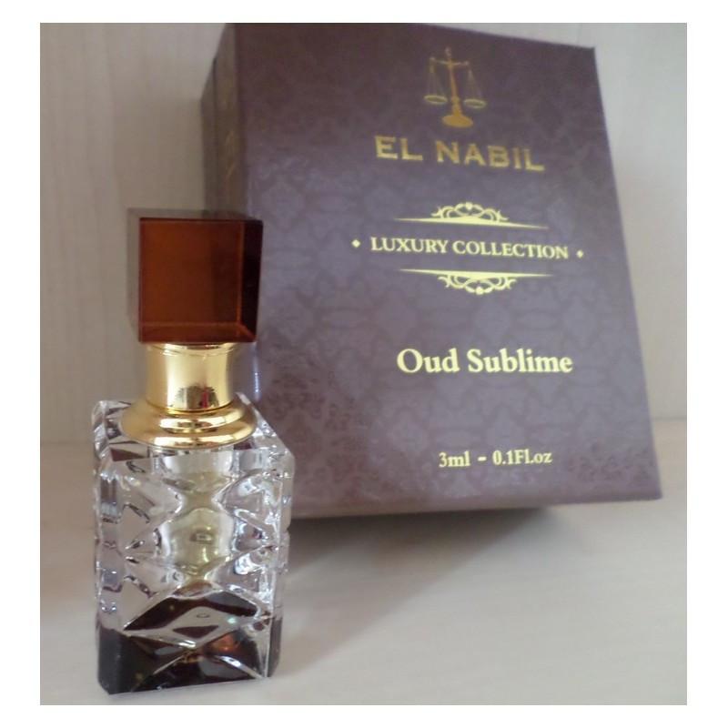 El Nabil Oud sublime– Collection de Luxe - 3 ml