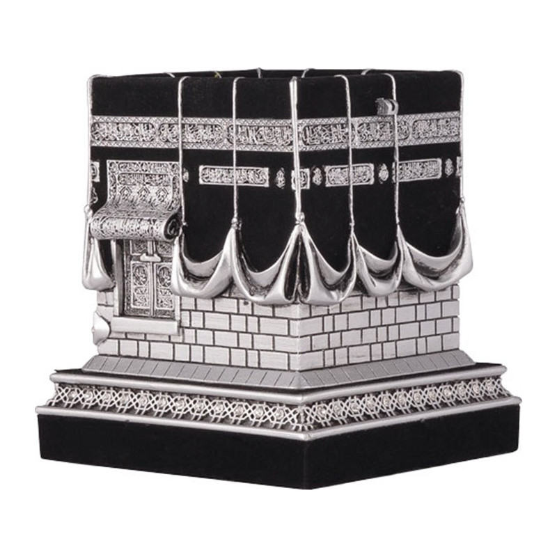 bibelot kaaba objet de d coration la kaaba argent. Black Bedroom Furniture Sets. Home Design Ideas