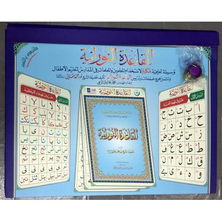 Posters de Tableau des cours de la Qaida nourania, de Muhammad Haqqani (Version Arabe)