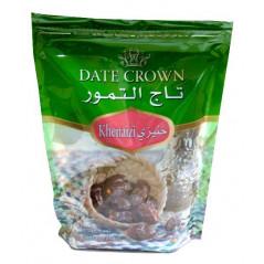 Dattes Crown (Khenaizi) : Dattes qualité supérieure en provenance d'Emirats Arabes Unis, Sachet 500 g