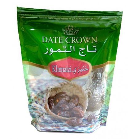 Datte Crown (Khenaizi) : Dattes Emiratis qualité supérieure, Boite 500 g