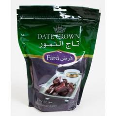 Dattes Crown (Fard) : Dattes qualité supérieure en provenance d'Emirats Arabes Unis, Sachet 500 g