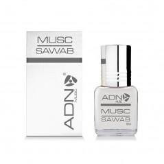 ADN Musc Sawab – Parfum concentré sans alcool pour homme- Flacon roll-on de5 ml
