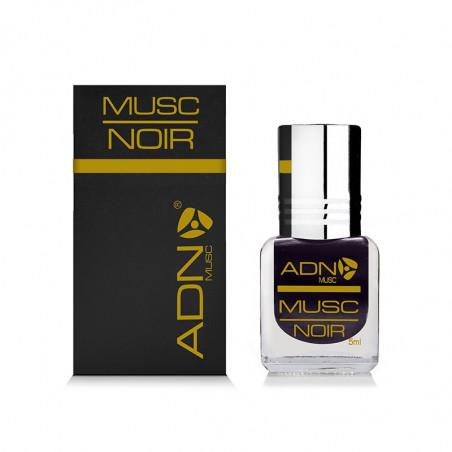 ADN Musc Noir (Black)– Parfum concentré sans alcool pour homme- Flacon roll-on de5 ml