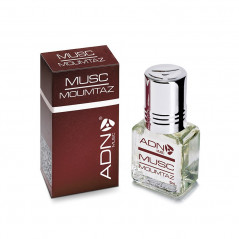 ADN Musc Moumtaz – Parfum concentré sans alcool mixte- Flacon roll-on de 5 ml