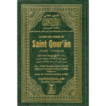 Le Sens des Versets du Saint Qour'an-15X22CM- ( Arabe-Français) , Boureima Abdou Daouda