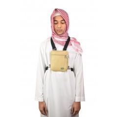 Sacoche Hajj - TOUR DE COU - safe anti vol avec ceinture pour Hajj & Umrah