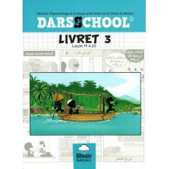 DARSSCHOOL, Livret 3 , Méthode d'apprentissage de la langue Arabe