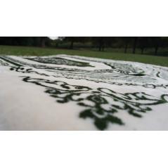 """Tapis de prière """"Douceur & orthopédique"""" (Trés grande épaisseur: 2,5cm) - Couleur Vert"""