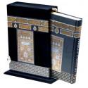 Saint Coran en Arabe avec fonction lecture pour smartphone, dans un fourreau sous forme de la sainte Kaaba