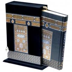 Le Saint Coran en Arabe avec fonction lecture pour smartphone, dans un fourreau sous forme de la sainte Kaaba