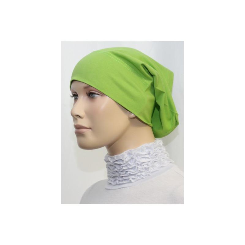 Bandeau tube sous hijab (Bleu majorelle uni)