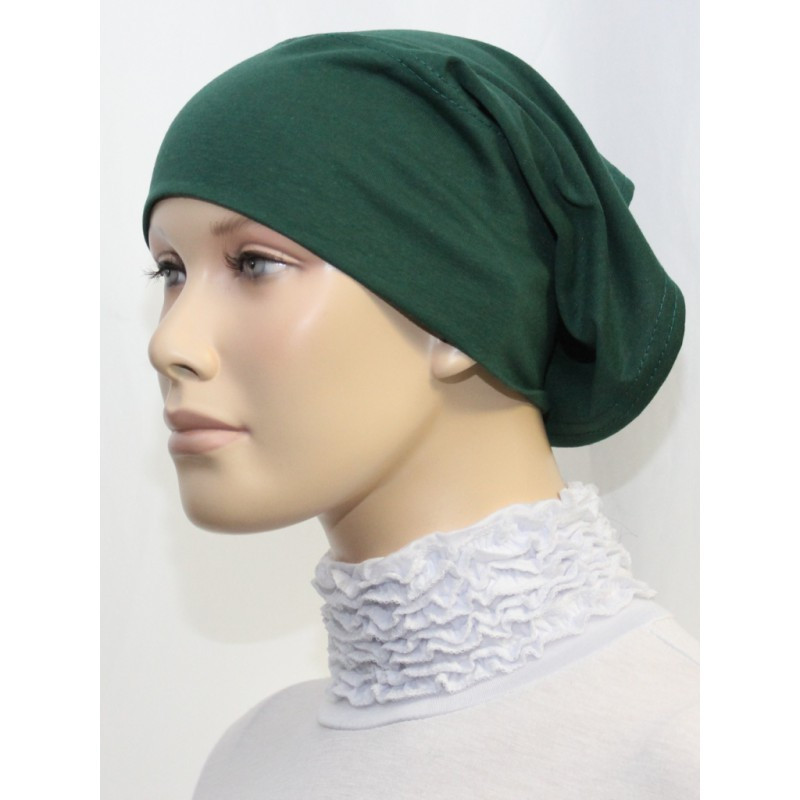 Bandeau tube sous hijab (Vert citron uni)