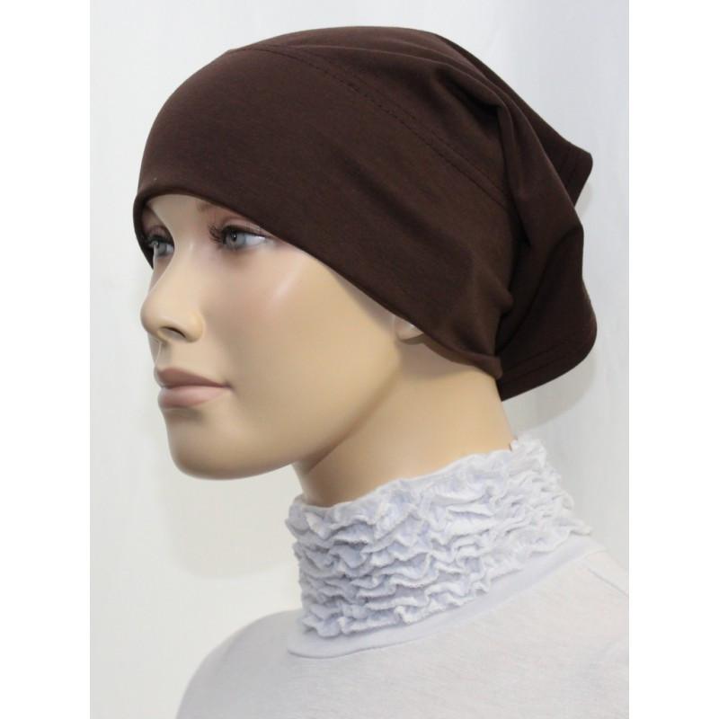 Bandeau tube sous hijab (Marron uni)