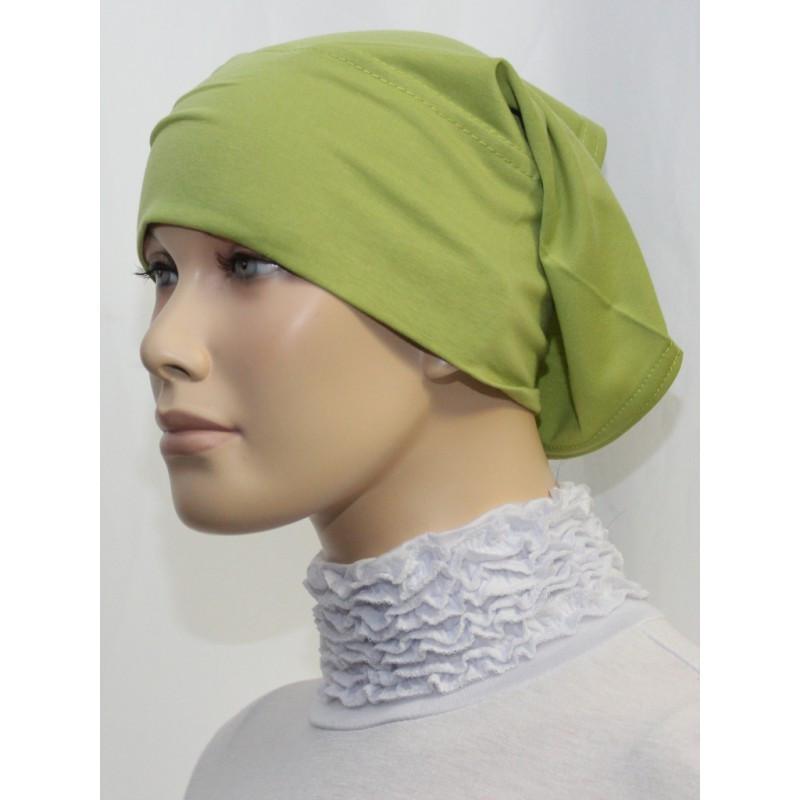 Bandeau tube sous hijab (Vert kaki uni)