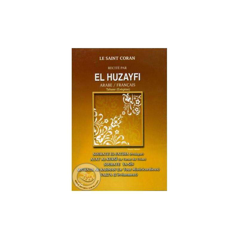 CD Coran (AR/FR)-HOUDHAIFI (Fatiha-Ayat al Kursi-Yasin-Rahman-Waqia) sur Librairie Sana