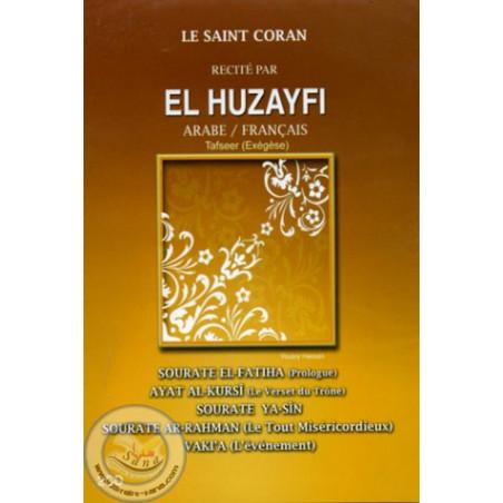 CD Coran (AR/FR)-HOUDHAIFI (Fatiha-Ayat al Kursi-Yasin-Rahman-Waqia)