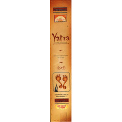 Yatra Encens Indien naturel,  15 bâtonnets (17g), de Parimal