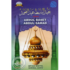 CD MP3 Coran - ABDULBASSET (6 CD) sur Librairie Sana