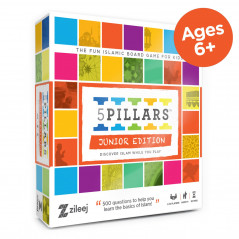 5 Pillars board game - Junior Edition (English Version) - Jeu de société « 5 piliers » (Age +6)
