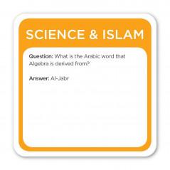 Jeu de carte « 5 piliers » Trivia Burst: Science et Islam