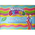Bonbons Halal (Bâtons acidulés sucrés multifruit ) – Yummy Gummy (SourPencils)– Sachet de 80 g