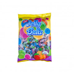 Bonbons Halal (Boules arômes fruits) – Jelly Candy (Jelly Balls) – Sachet de 90 g