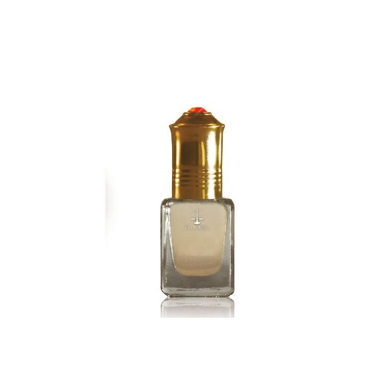 El Nabil Musc Rose– Parfum concentré sans alcool pour femme- Flacon roll-on de5 ml