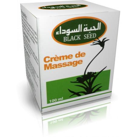 Crème de Massage à base de Nigella Sativa (Habba Sawda) - 100 ml