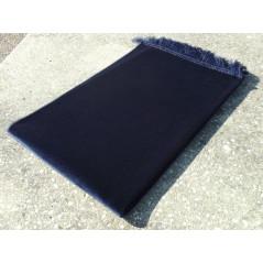 Tapis de Prière Enfant - En Velours -74 x 48 cm -  Bleu Marine