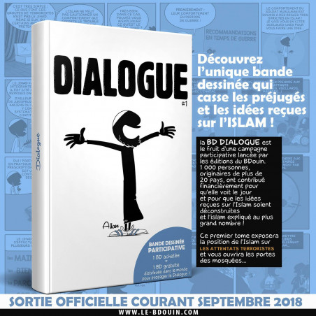 DIALOGUE 1 (Bande dessinée participative), de Norédine Allam