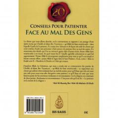 20 Conseils pour patienter face au mal des Gens , de Ibn Taymiyya, Commentaire Abd Ar-Razzâq Al-Badr, Bilingue (Français-Arabe)