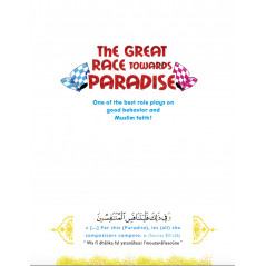 THE GREAT RACE Towards PARADISE (English)