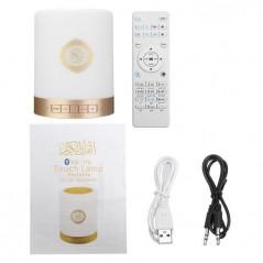 Coranique Touch Lamp, Haut-Parleur, Bluetooth,télécommande,MP3 Player