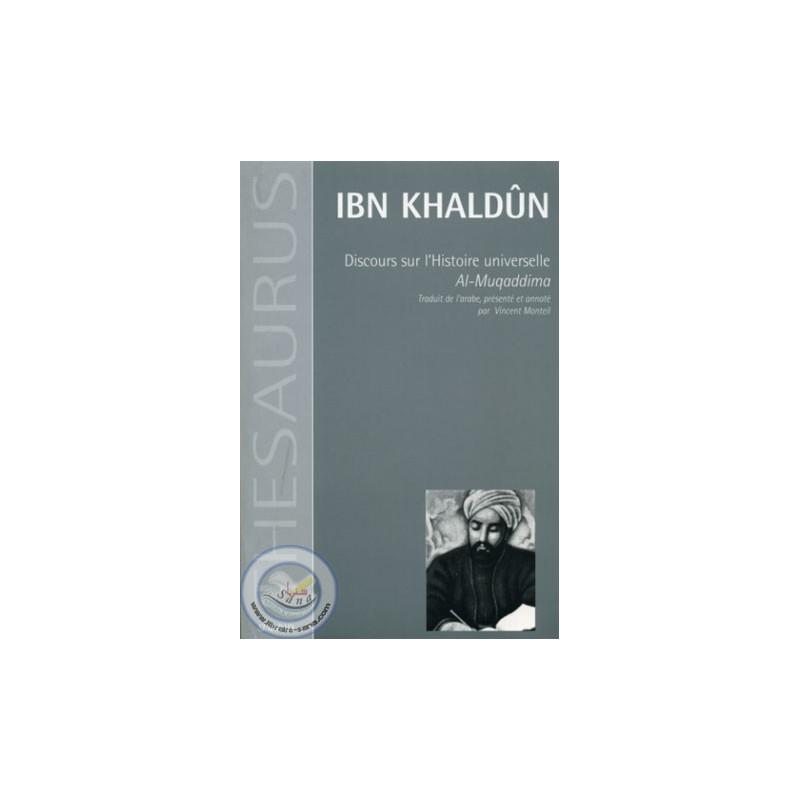 Discours sur l'histoire universelle (Al Muqqaddima) sur Librairie Sana