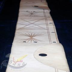 Ceinture en Cuir du Hajj - TOUR DE TAILLE 105 CM