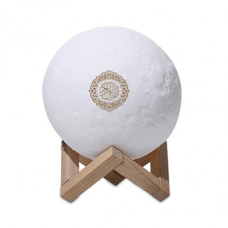 Moon Lamp Qur'an Speaker - Lampe Lune avec récitation du Coran - SQ-168