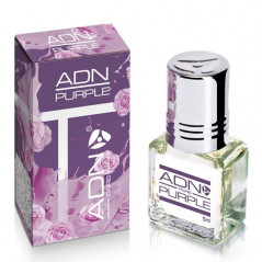 PURPLE - ADN PARIS: Parfum concentré sans alcool pour Femme- Flacon roll-on de 5 ml