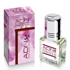 PRECIOUS- ADN PARIS: Parfum concentré sans alcool pour Femme- Flacon roll-on de 5 ml