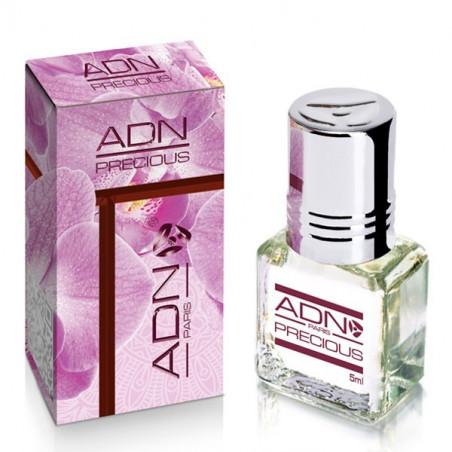 PRECIOUS- ADN PARIS: Parfum concentré sans alcool pour Femme- Flacon roll-on de5 ml