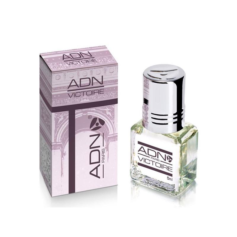 VICTOIRE- ADN PARIS: Parfum concentré sans alcool pour Femme- Flacon roll-on de5 ml
