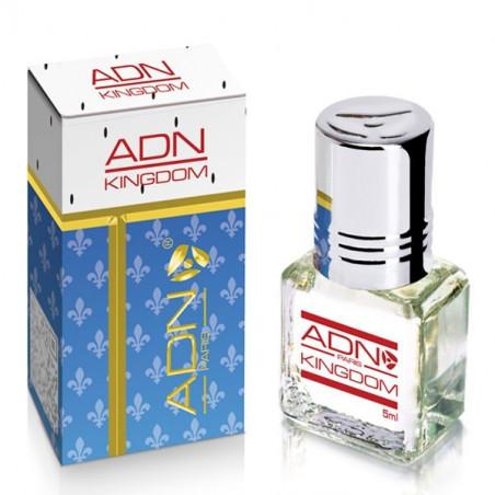 KINGDOM  - ADN PARIS: Parfum concentré sans alcool pour homme- Flacon roll-on de5 ml