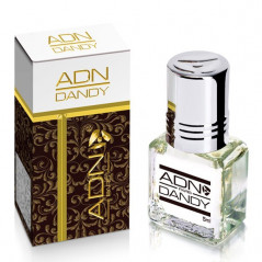 DANDY - ADN PARIS: Parfum concentré sans alcool pour homme- Flacon roll-on de 5 ml