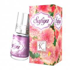 SAFIYA - KARAMAT: Parfum concentré sans alcool - Flacon roll-on de 3 ml (Mixte)