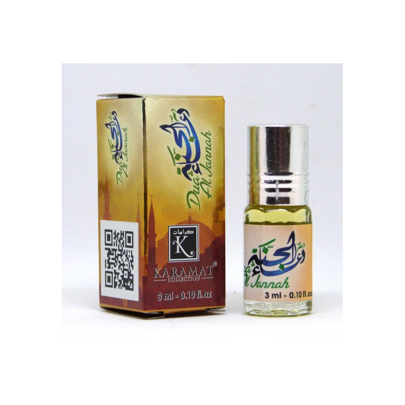 DUA AL JANNAH - KARAMAT: Parfum concentré sans alcool - Flacon roll-on de 3 ml (Mixte)