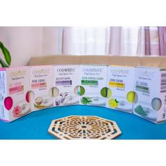 Savon naturel à l'Huile d'Olive Pure pour visage, corps et cheveux - Cosmolive - 100 g