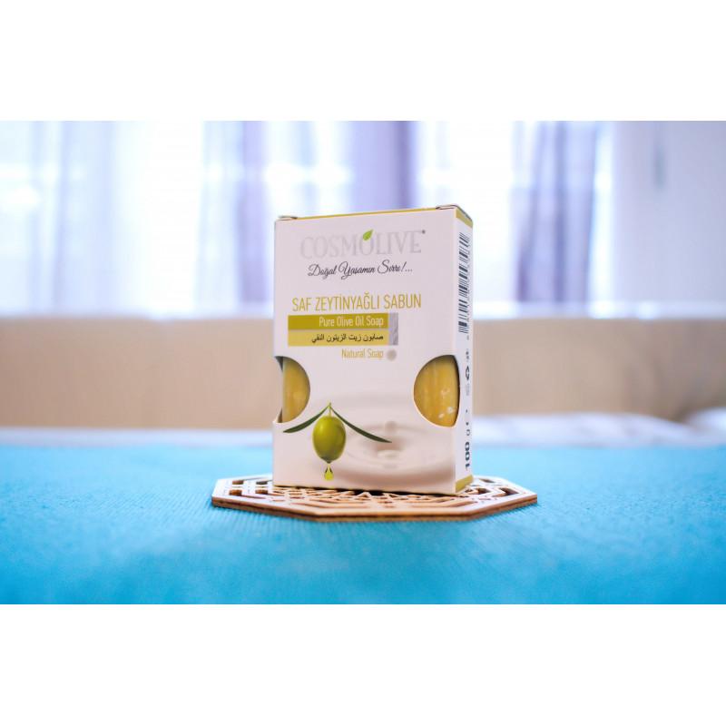 Savon naturel à l'Huile d'Olive Pure