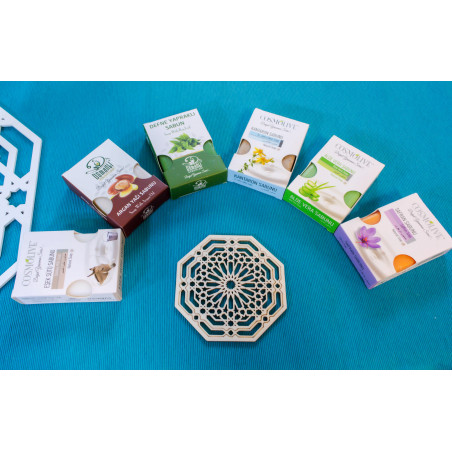Savon naturel à la daphné pour visage, corps et cheveux - Osmanli - 100 g